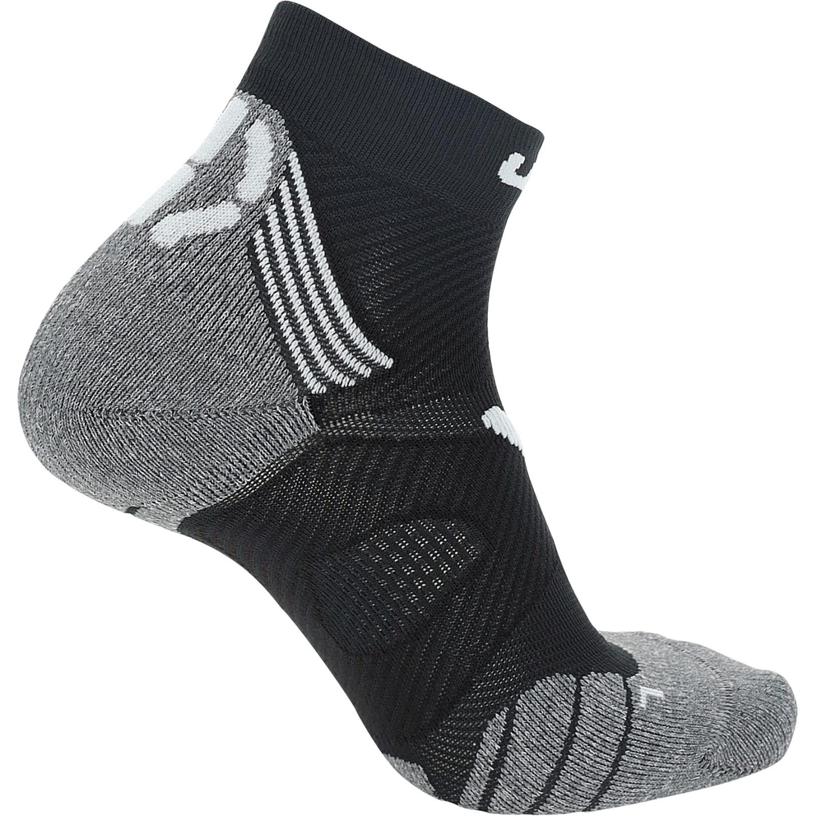 Bild von UYN Marathon Zero Socken - Schwarz/Weiß/Grau