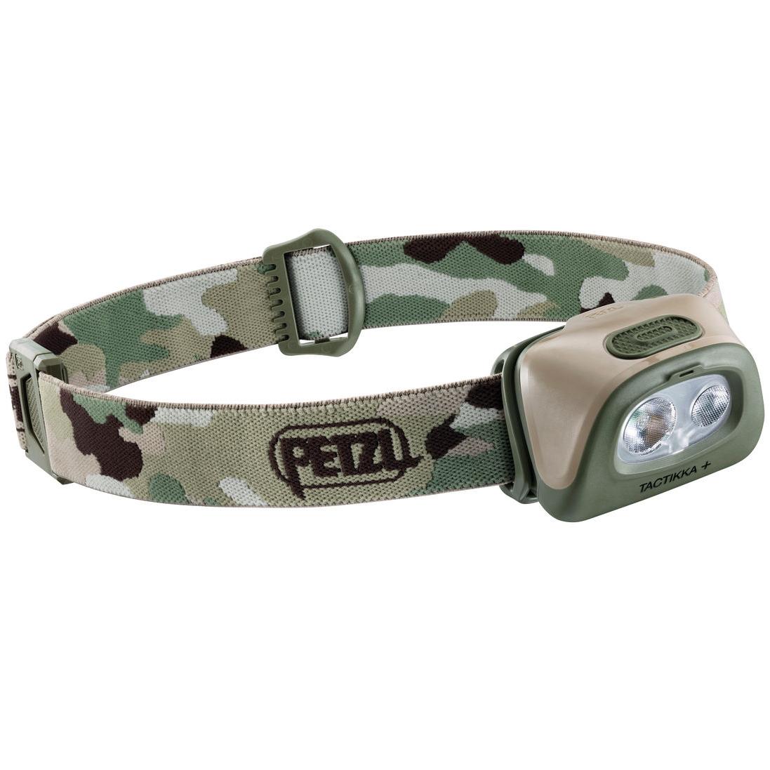 Petzl Tactikka + Headlamp - camo
