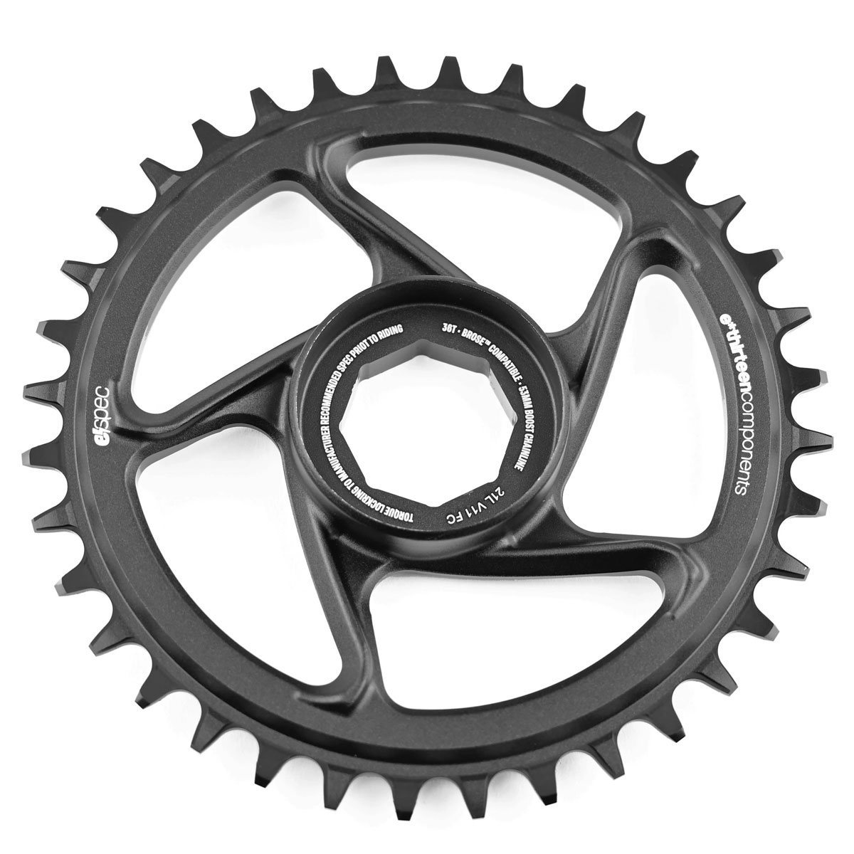 Picture of e*thirteen e*spec Direct Mount Chainring for Brose S Mag - black