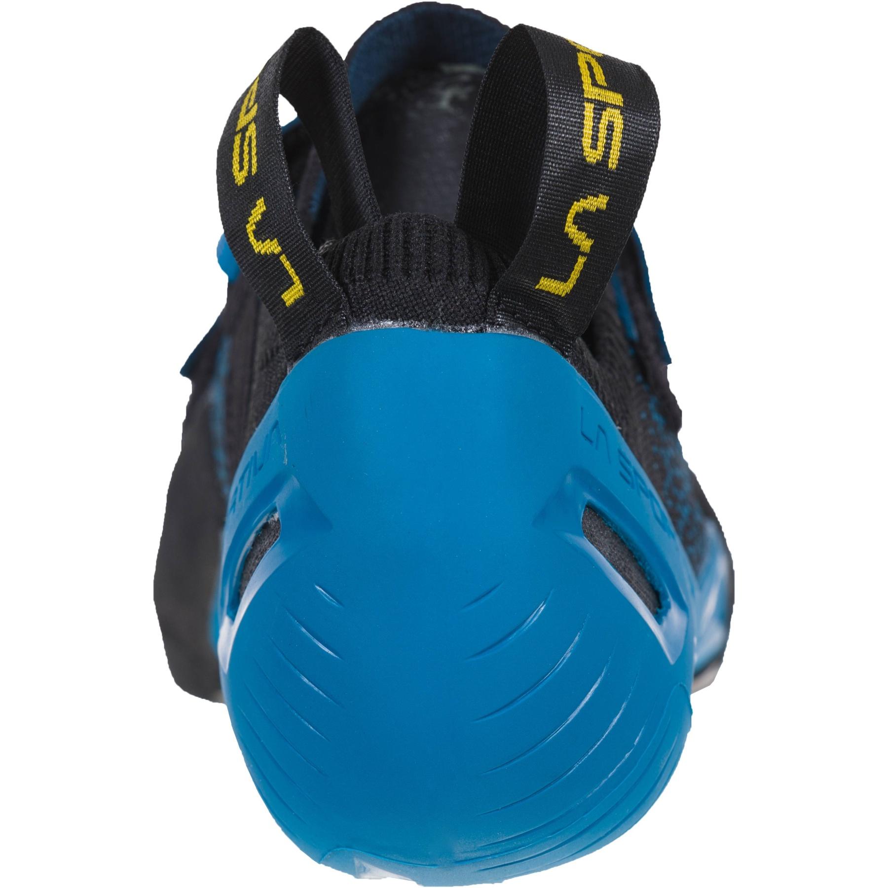 Image of La Sportiva Zenit Climbing Shoes - Neptune/Black