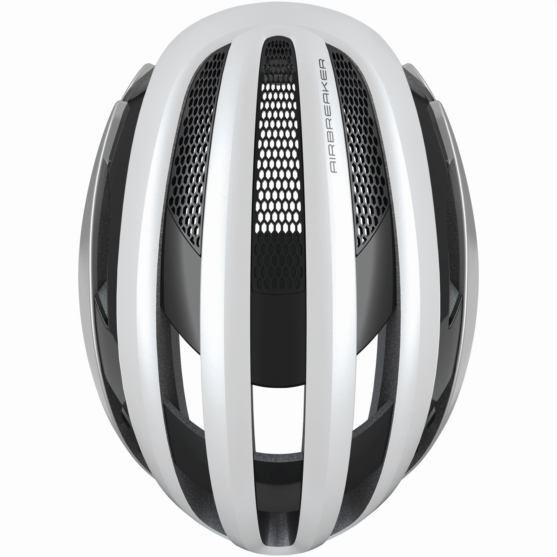 Imagen de ABUS AirBreaker Casco de Bicicleta - silver white