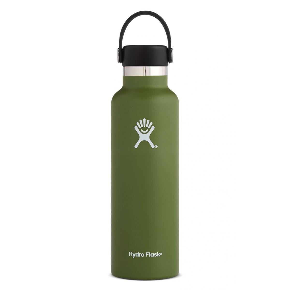 Bild von Hydro Flask 21 oz Standard Mouth Flex Cap Thermoflasche 621ml - Olive