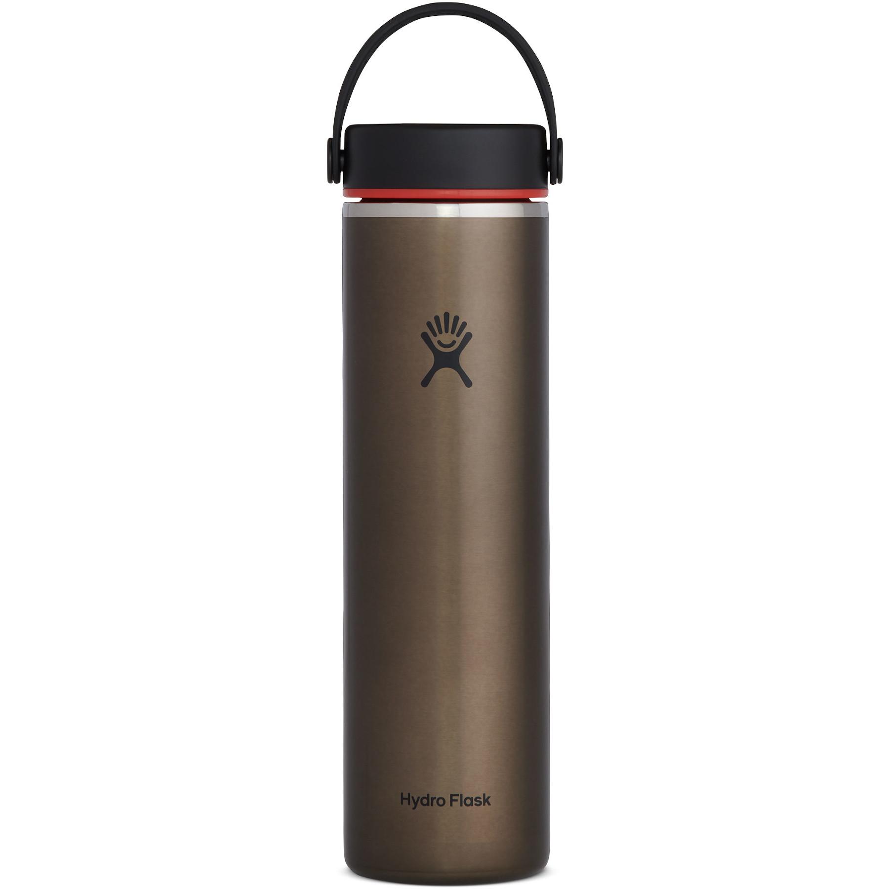 Produktbild von Hydro Flask 24 oz Lightweight Wide Mouth Trail Series Thermoflasche 710 ml - Obsidian