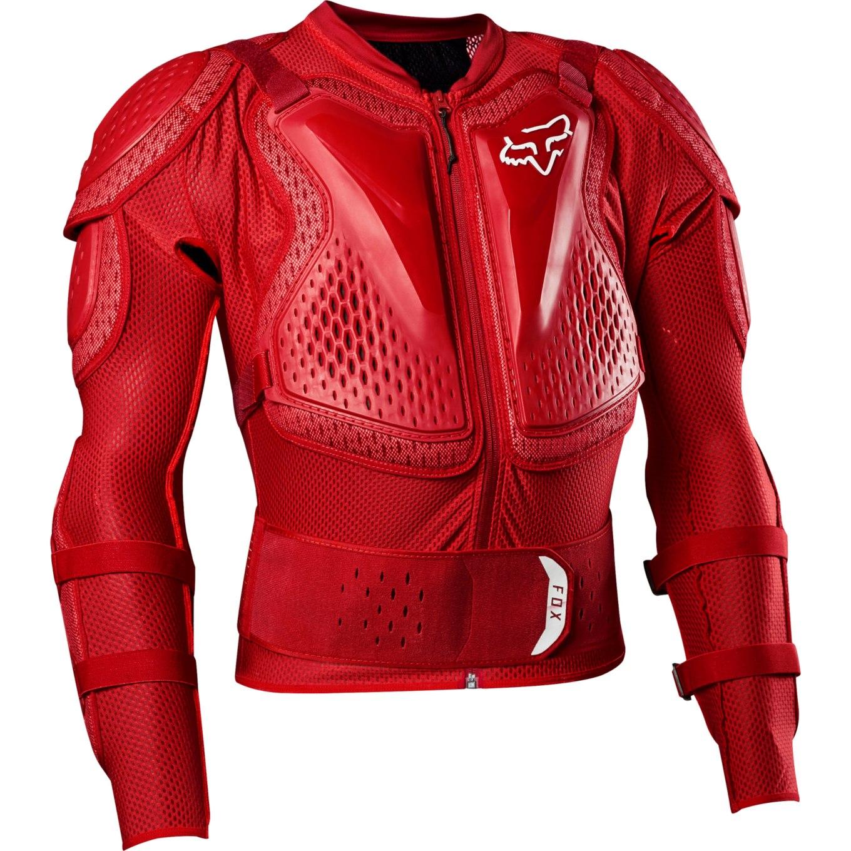 Produktbild von FOX Titan Sport Langarm Protektorenjacke - flame red
