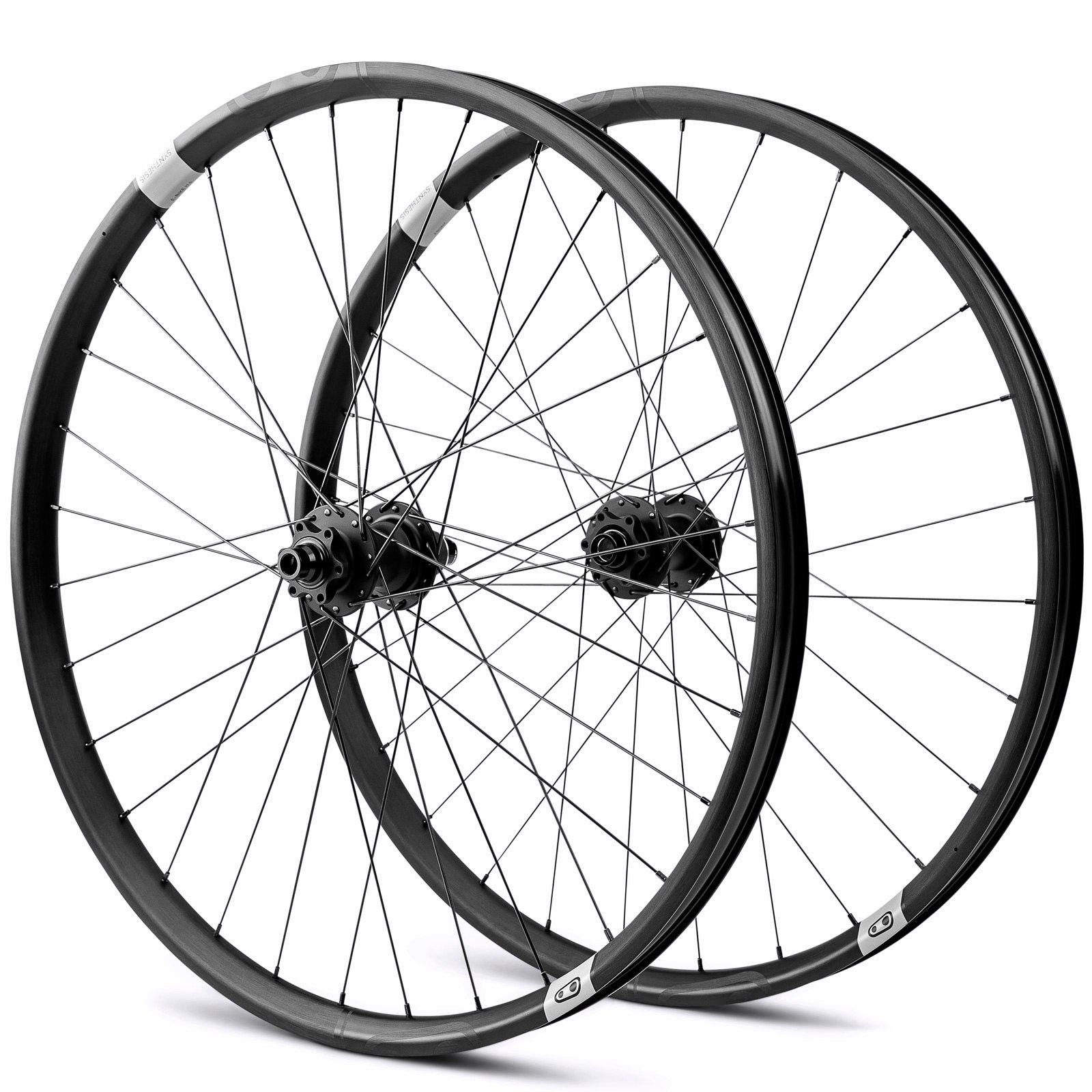 Crankbrothers Synthesis E-MTB Alloy - 27,5+ Inch Wheelset - 6-Bolt - Shimano/SRAM HG - FW: 15x110mm | RW: 12x148mm Boost
