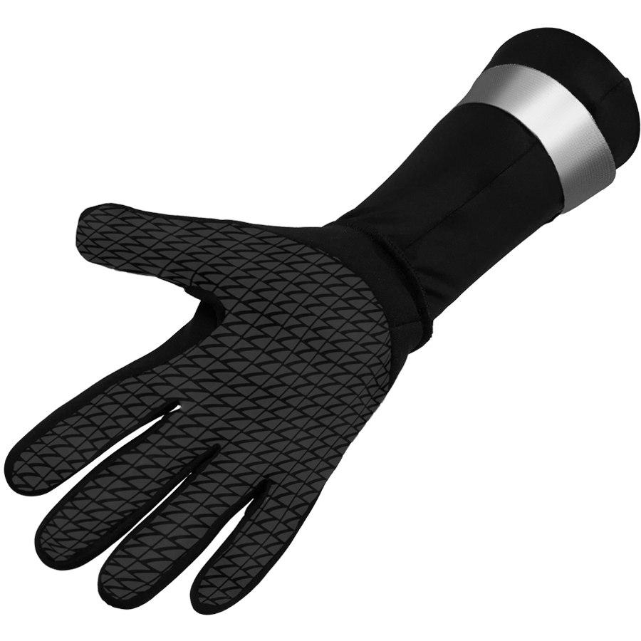 Bild von Zone3 Neoprene Handschuhe - schwarz/silber