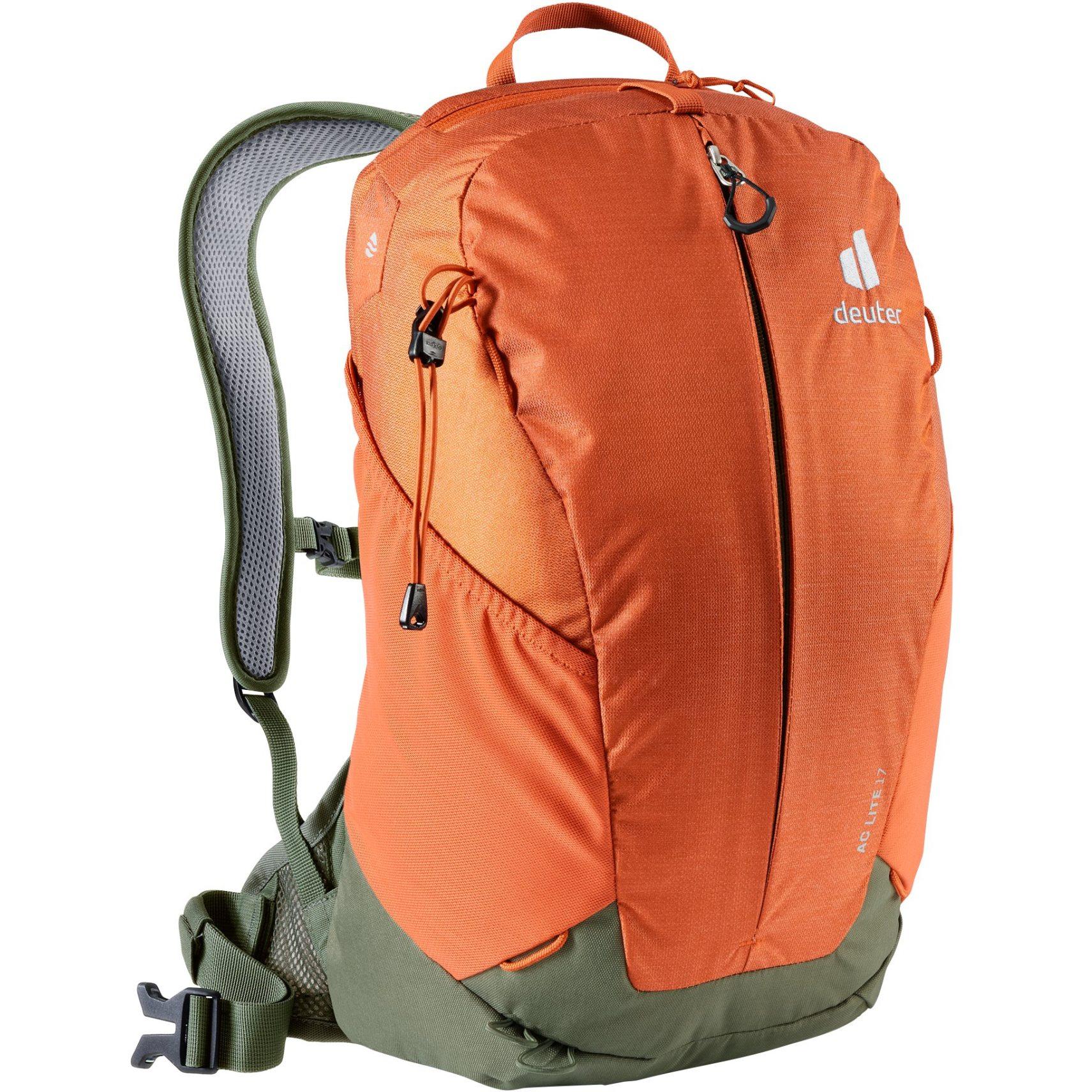 Deuter AC Lite 17 Backpack - paprika-khaki