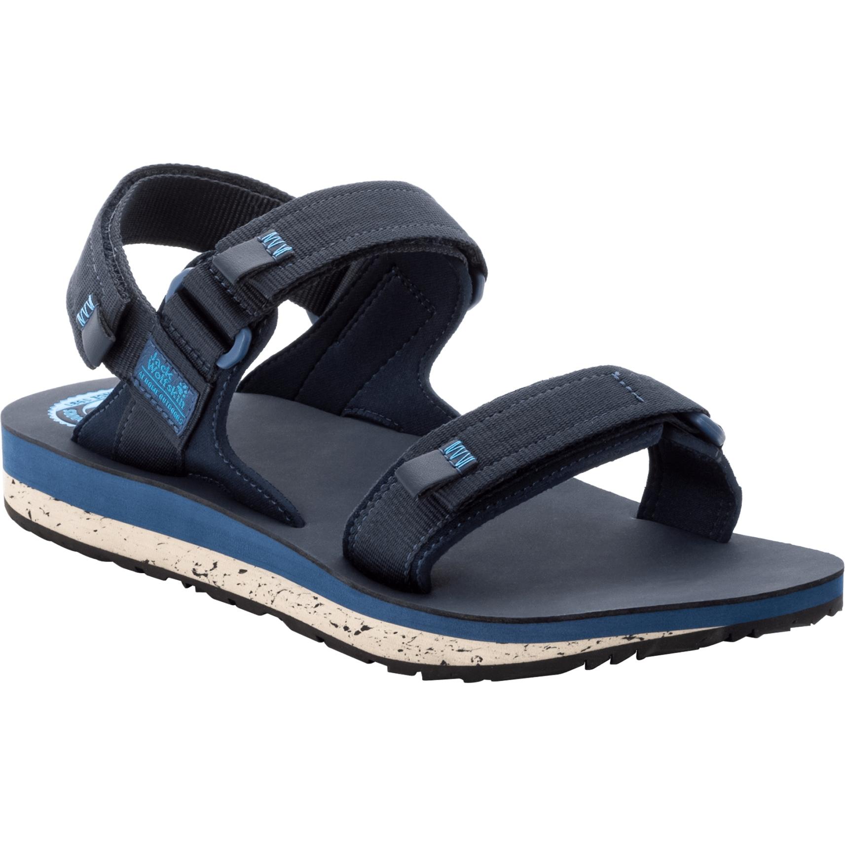 Jack Wolfskin Outfresh Deluxe Sandal M - dark blue/blue