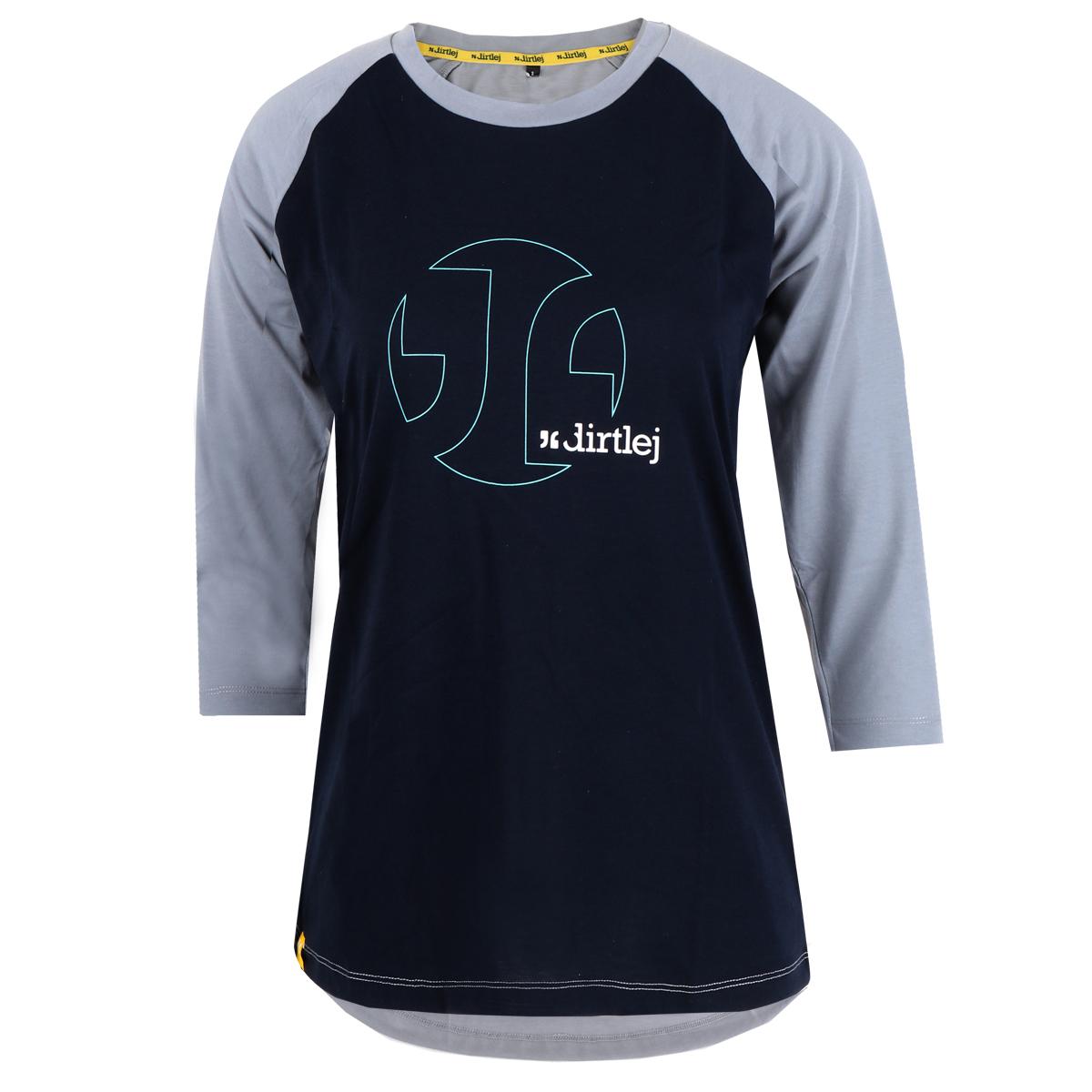 Picture of Dirtlej Mountee Ladie's Jersey - black-blue/grey