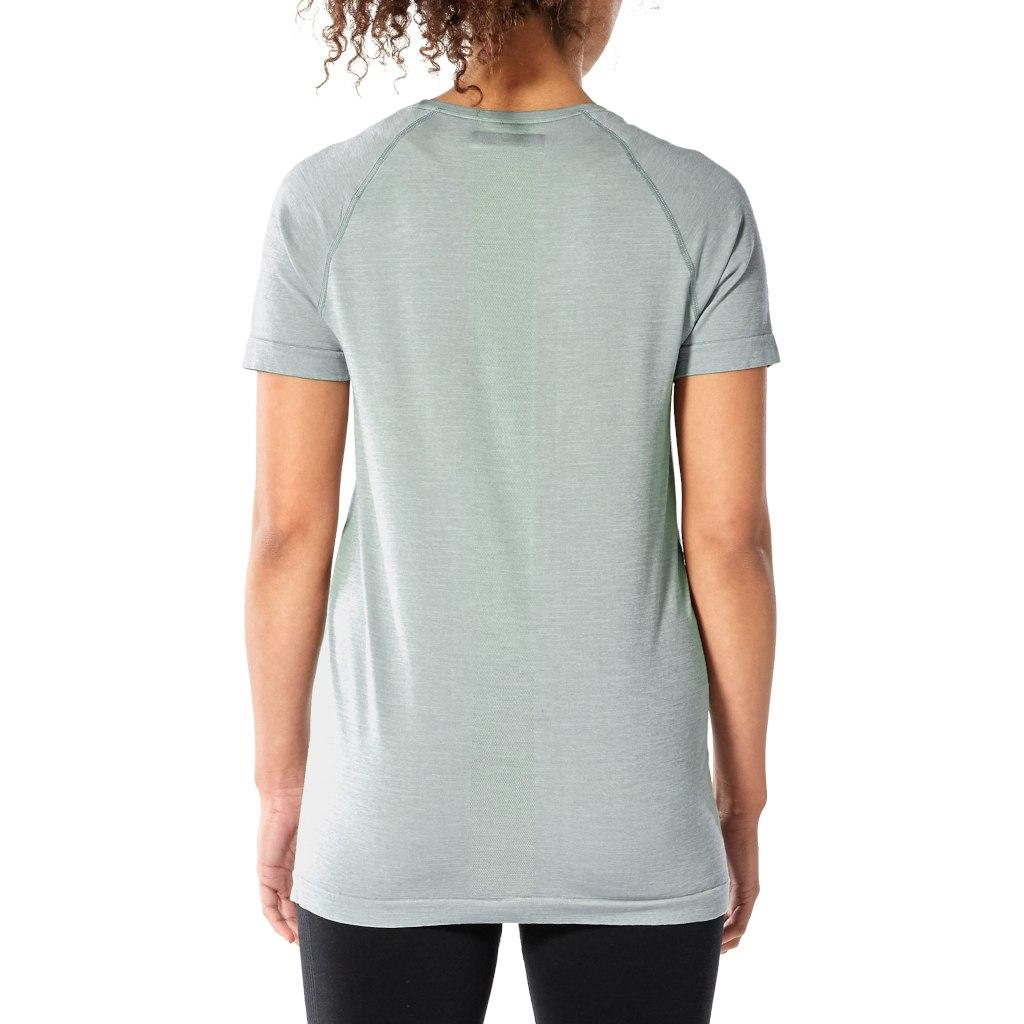 Bild von Icebreaker Motion Seamless Crewe Damen T-Shirt - Panther HTHR