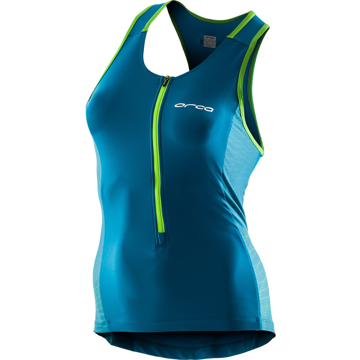 Foto de Orca Core Short Sleeved Tri Top Womens - turquoise