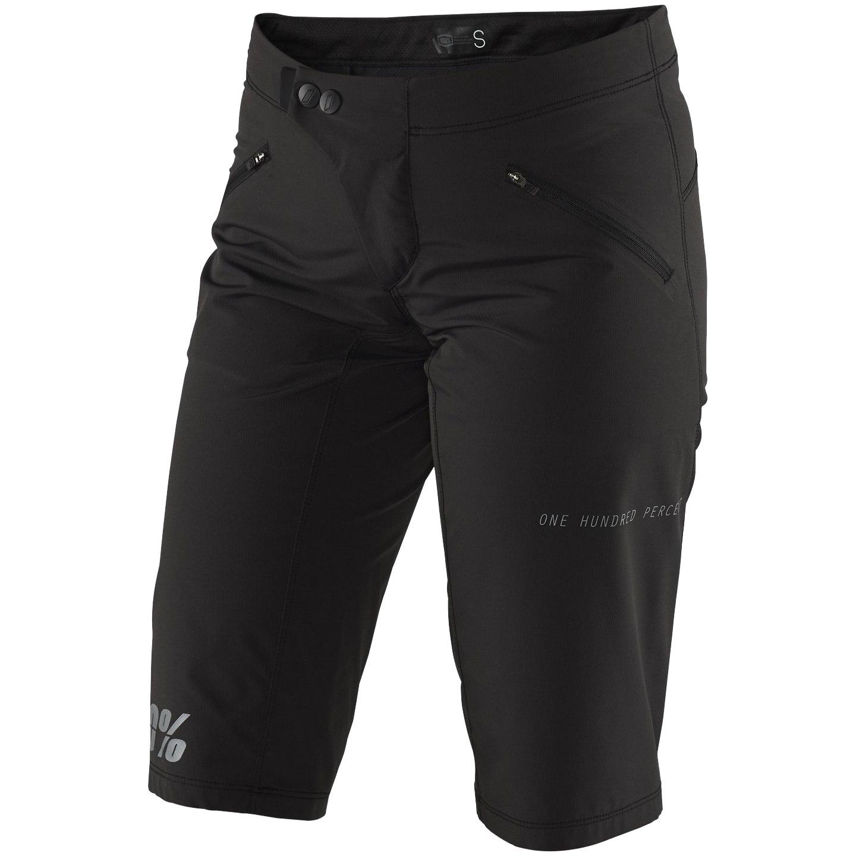 100% Ridecamp Women's Shorts - black