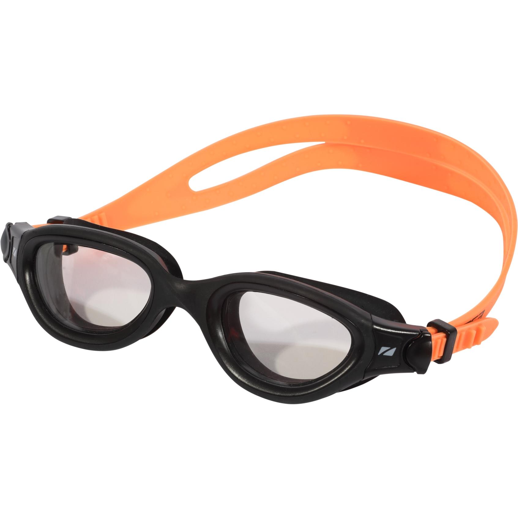 Zone3 Venator-X Schwimmbrille - Photochromatic - black/neon orange - photochromatic lens