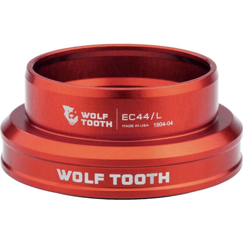 Wolf Tooth Precision EC Steuersatz Unterteil - EC44/40 - rot