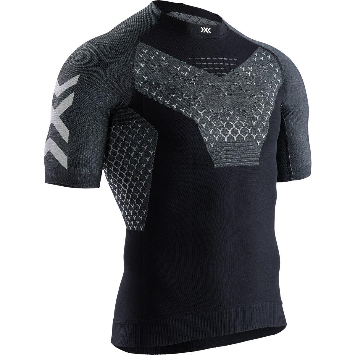 X-Bionic TWYCE 4.0 Run Shirt Short Sleeves for Men - opal black/arctic white