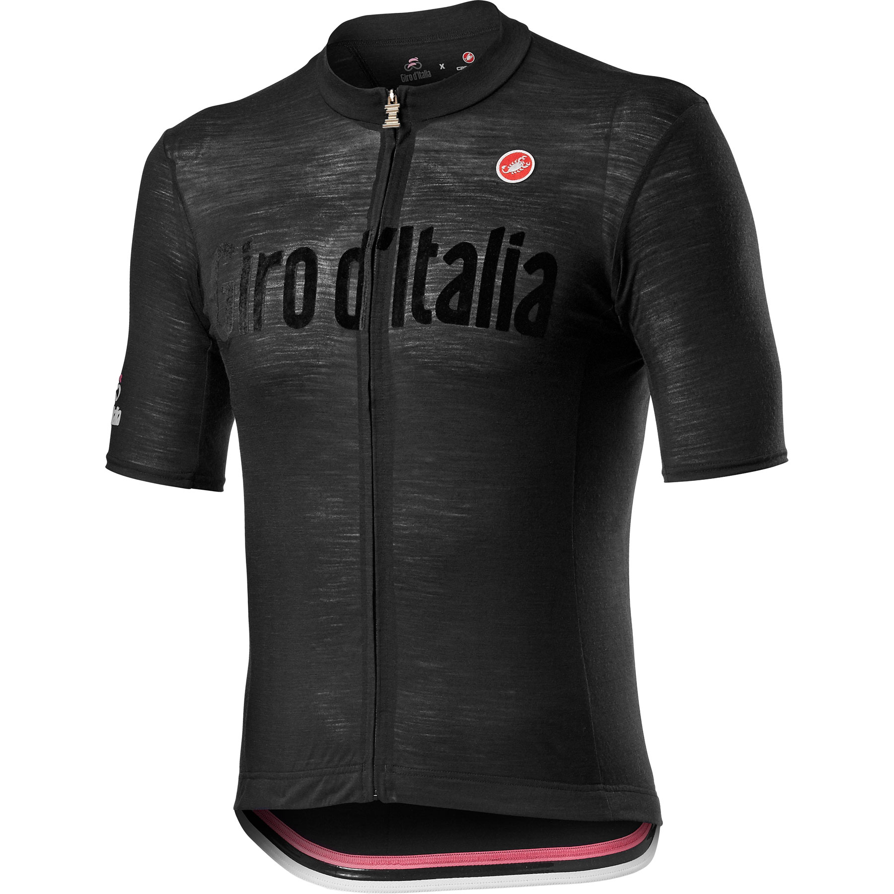Castelli Giro d'Italia 2021 Heritage Maglia Nera Jersey - nero vintage 085