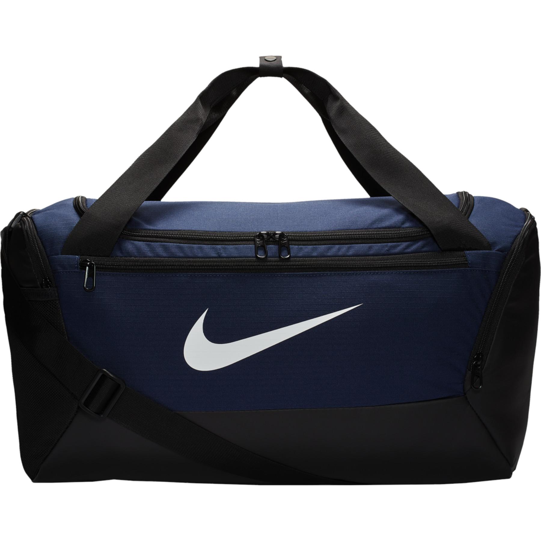 Picture of Nike Brasilia Training Duffel Bag (Small) - midnight navy/black/white BA5957-410