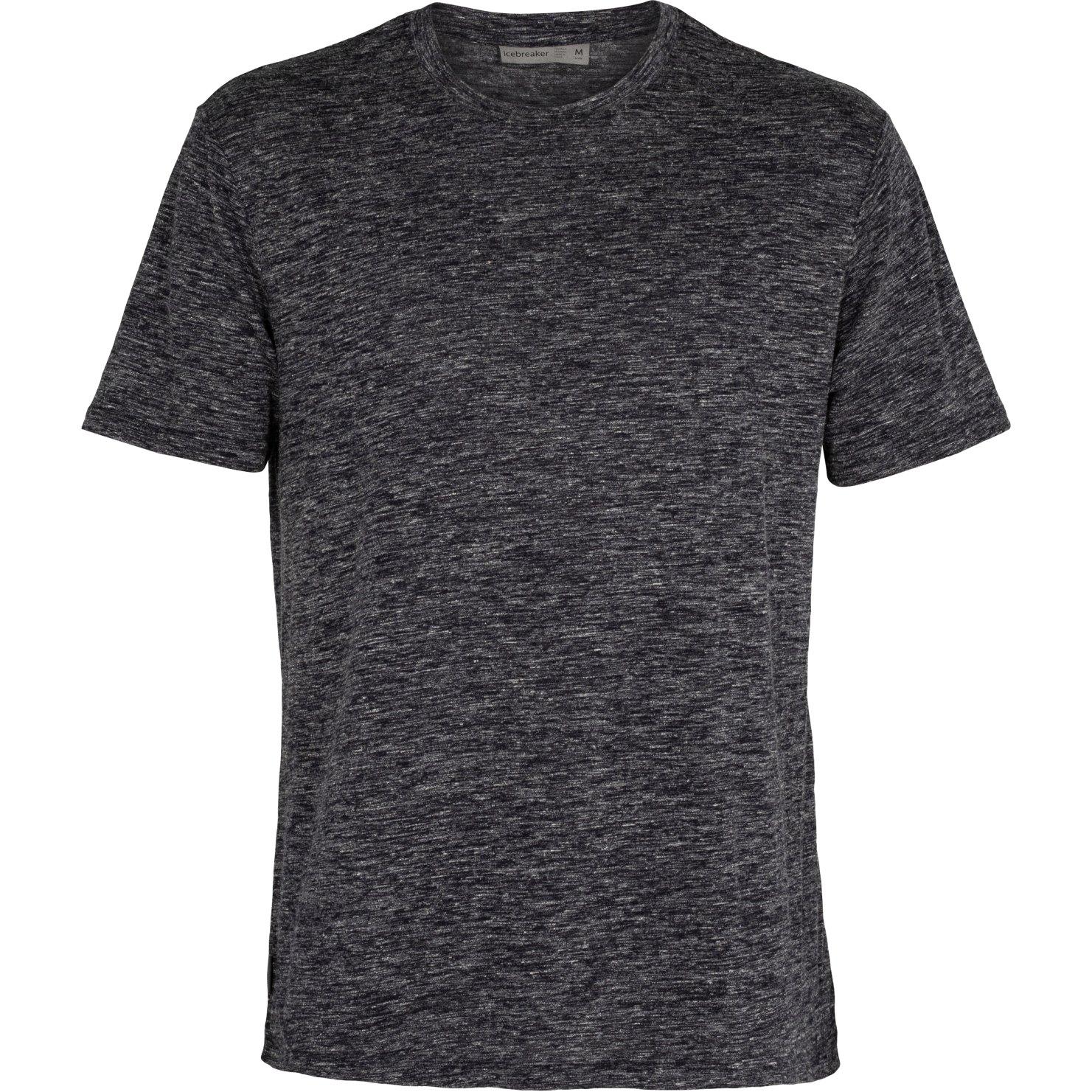 Icebreaker Dowlas Crewe Herren T-Shirt - Midnight Navy