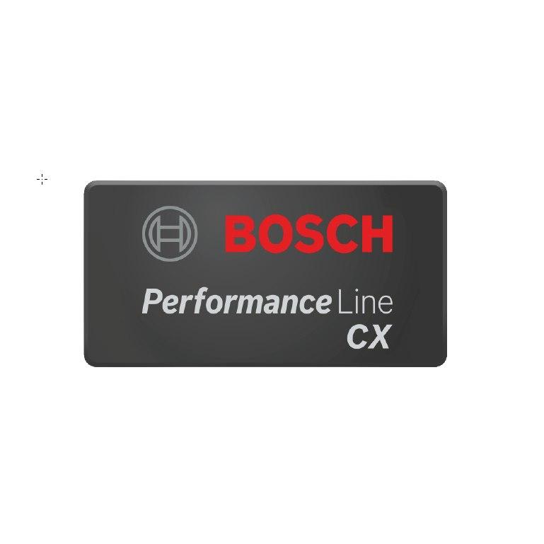 Bosch Logo Cover Performance CX, rectangular for Performance Line CX - 1270015120