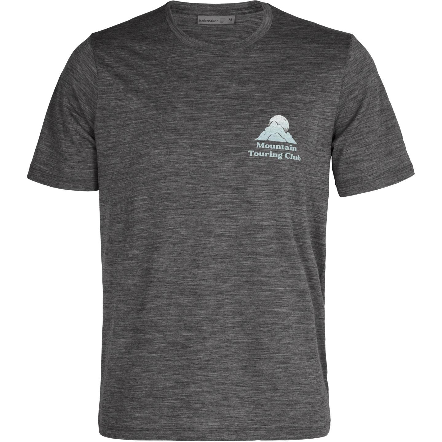 Icebreaker Tech Lite II Touring Club Herren T-Shirt - Gritstone Hthr
