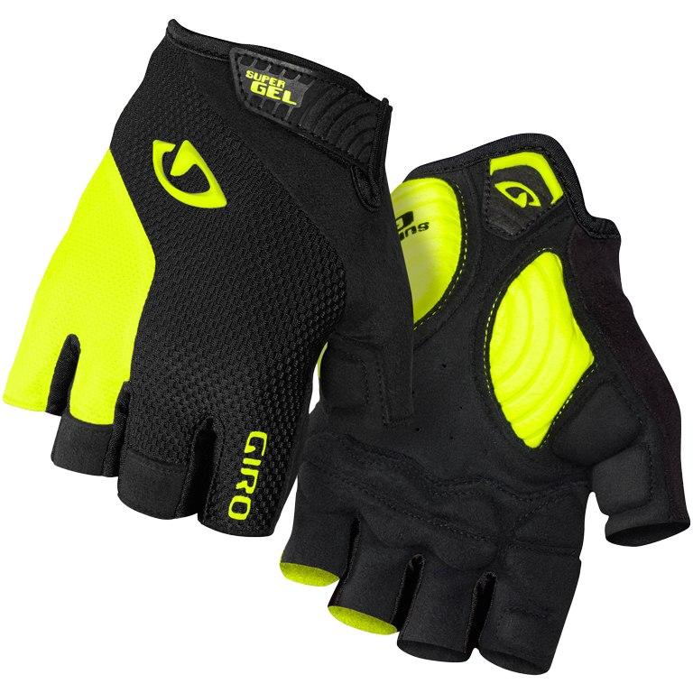 Giro Strade Dure Supergel Handschuhe - black/highlight yellow