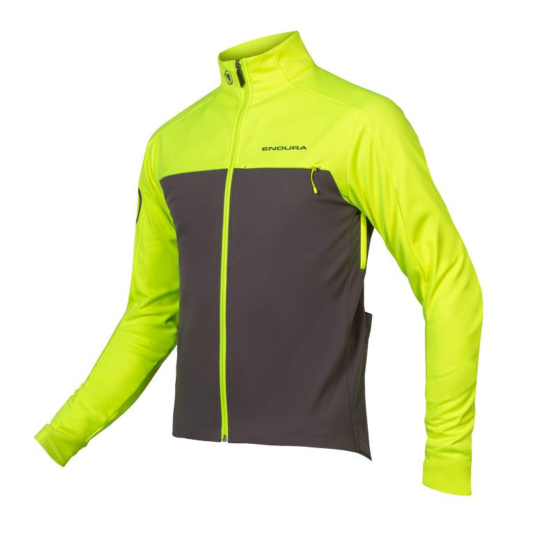 Produktbild von Endura Windchill Jacke II - neon-gelb
