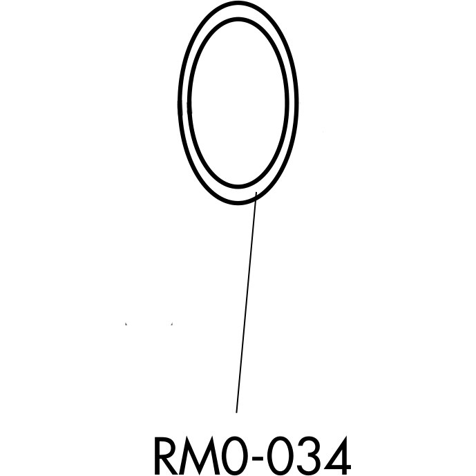 Fulcrum Rear Hub Grease Seal right (4 pieces) - RM0-034