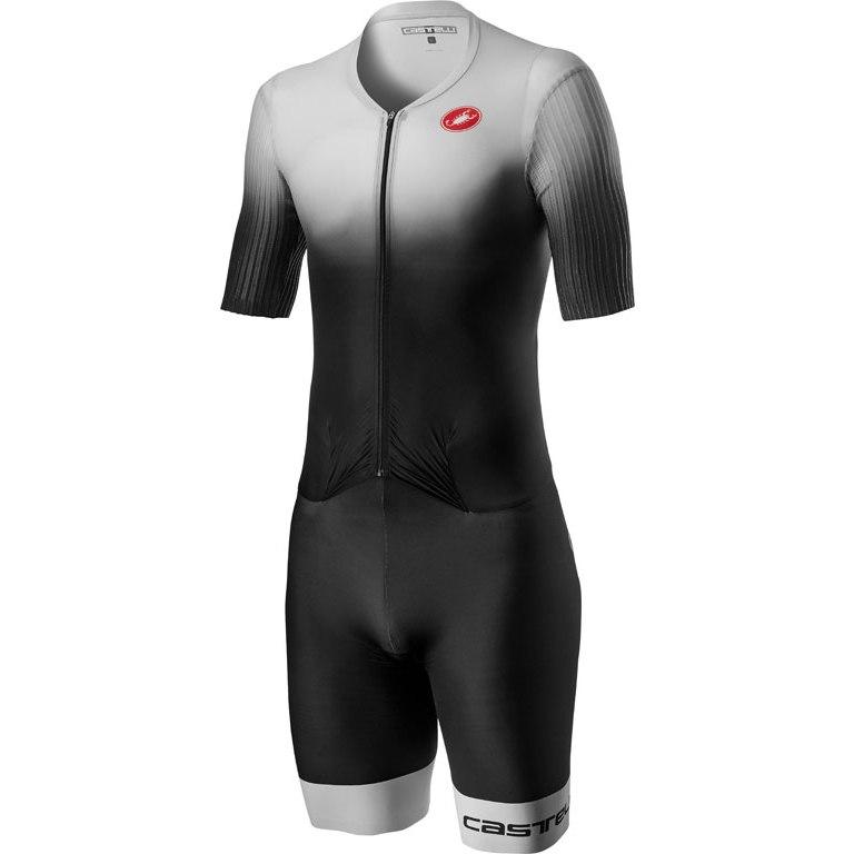 Produktbild von Castelli PR Speed Suit - silver grey/black 870