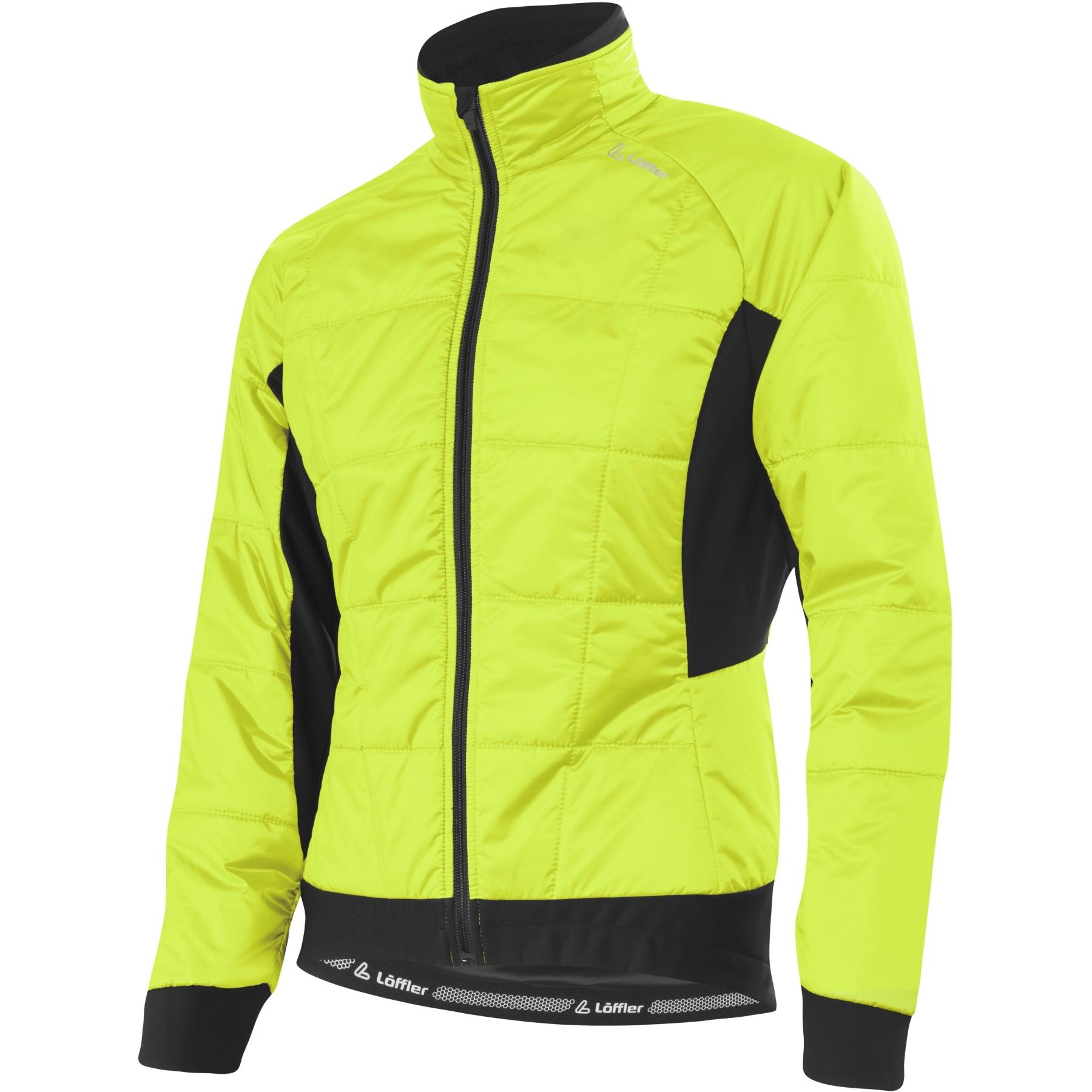 Löffler Bike Iso Jacke Hotbond® PL60 Damen 20603 - neon gelb 200