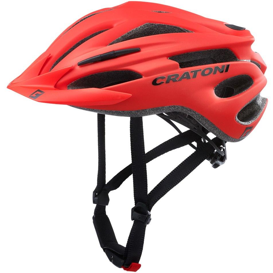 CRATONI Pacer Helmet - red matt