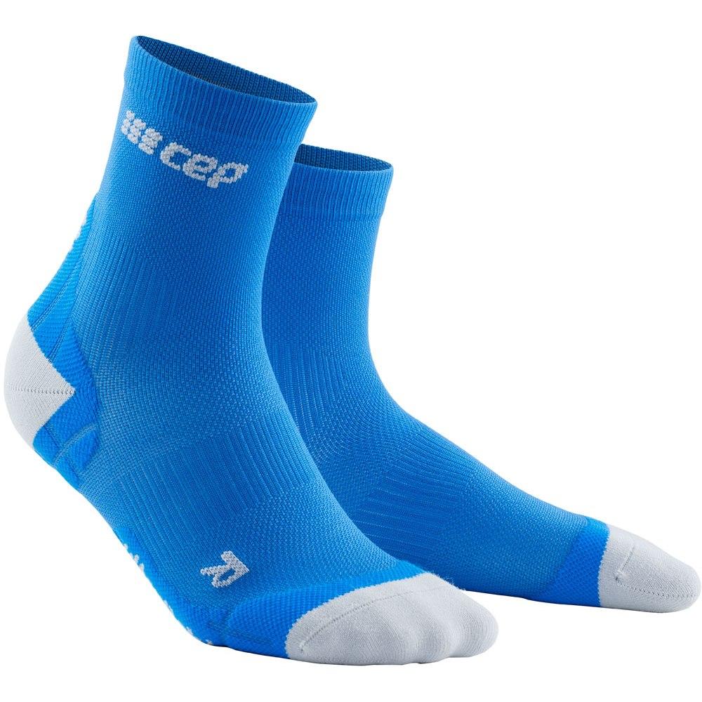 CEP Ultralight Short Compression Socks 3.0 - electric blue/light grey
