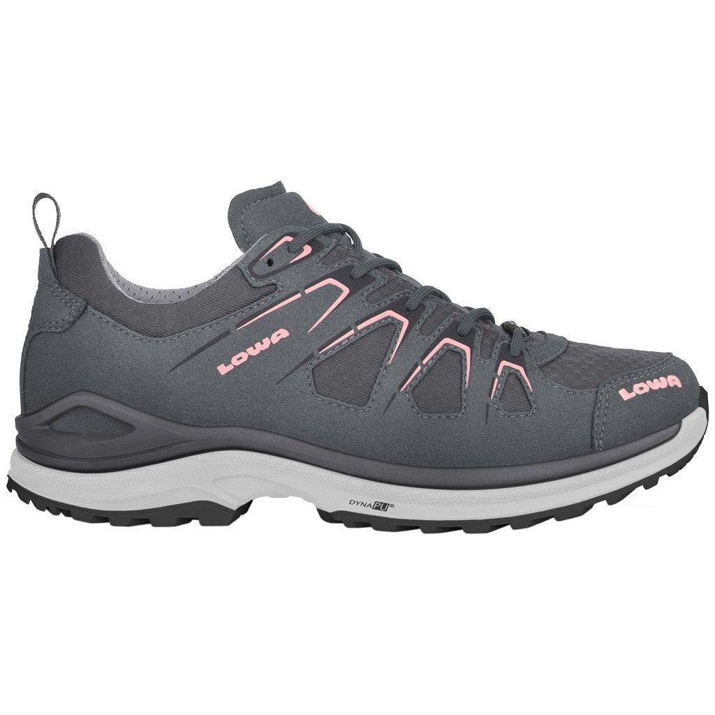 LOWA Innox Evo GTX Lo Women's Shoe - asphalt/salmon
