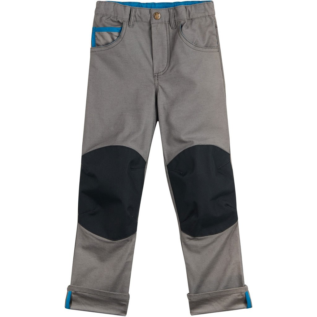 Finkid KUUSI CANVAS Kids Functional Pants 2020 - charcoal
