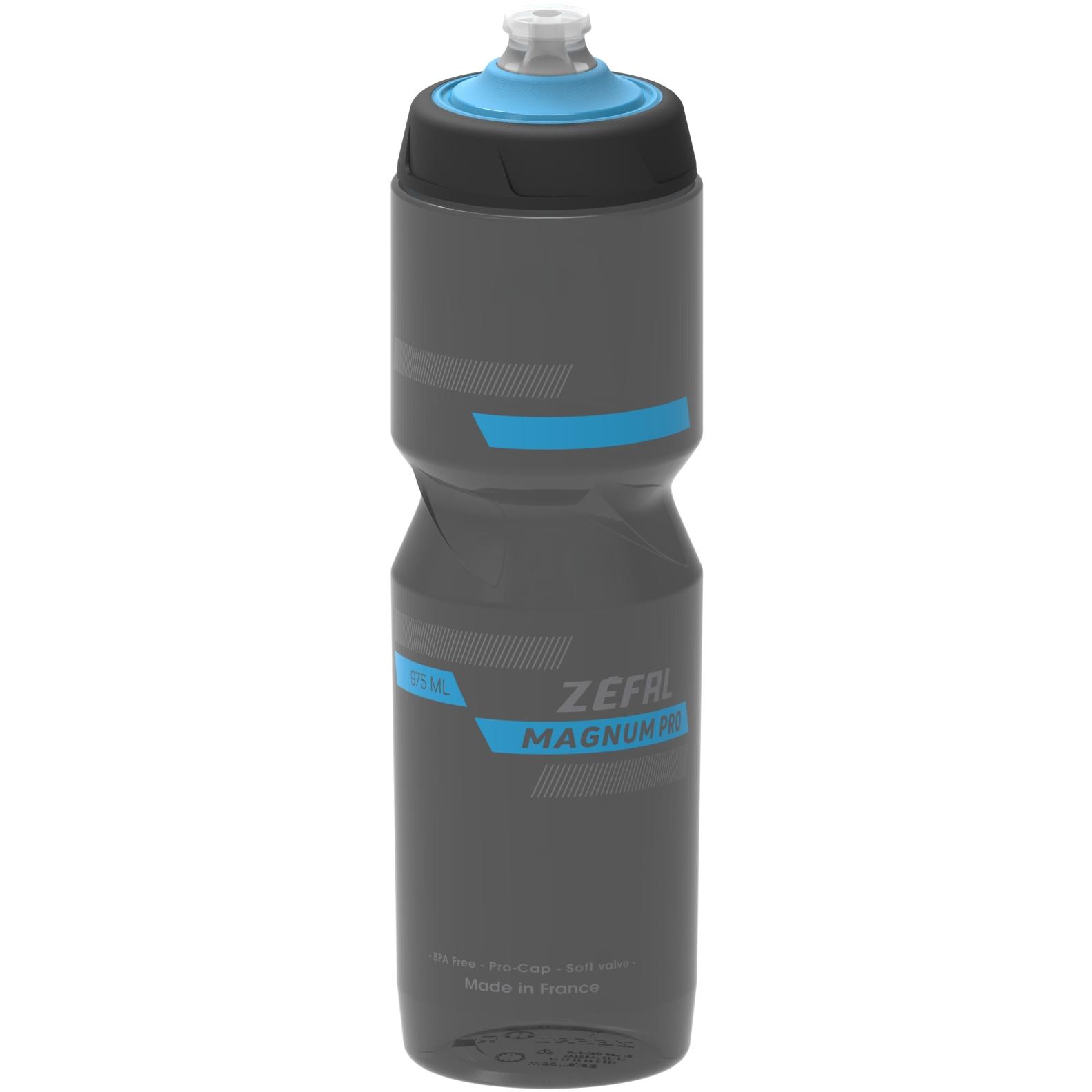 Zéfal Magnum Pro Trinkflasche 975ml - black blue/grey
