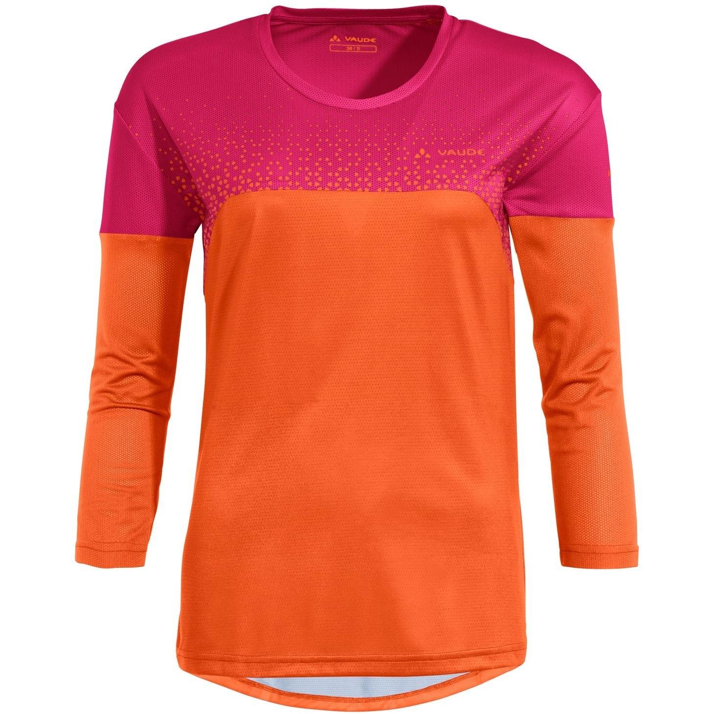 Vaude Moab V Langarm Damen T-Shirt MTB - tangerine
