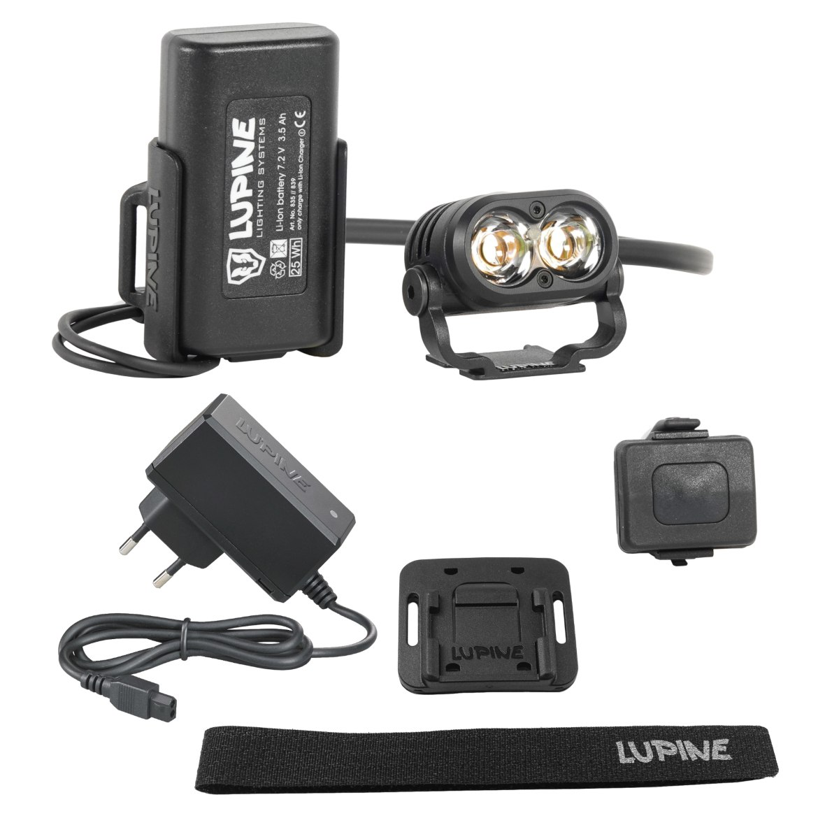 Produktbild von Lupine Piko R 4 Helmlampe - 2100 lm