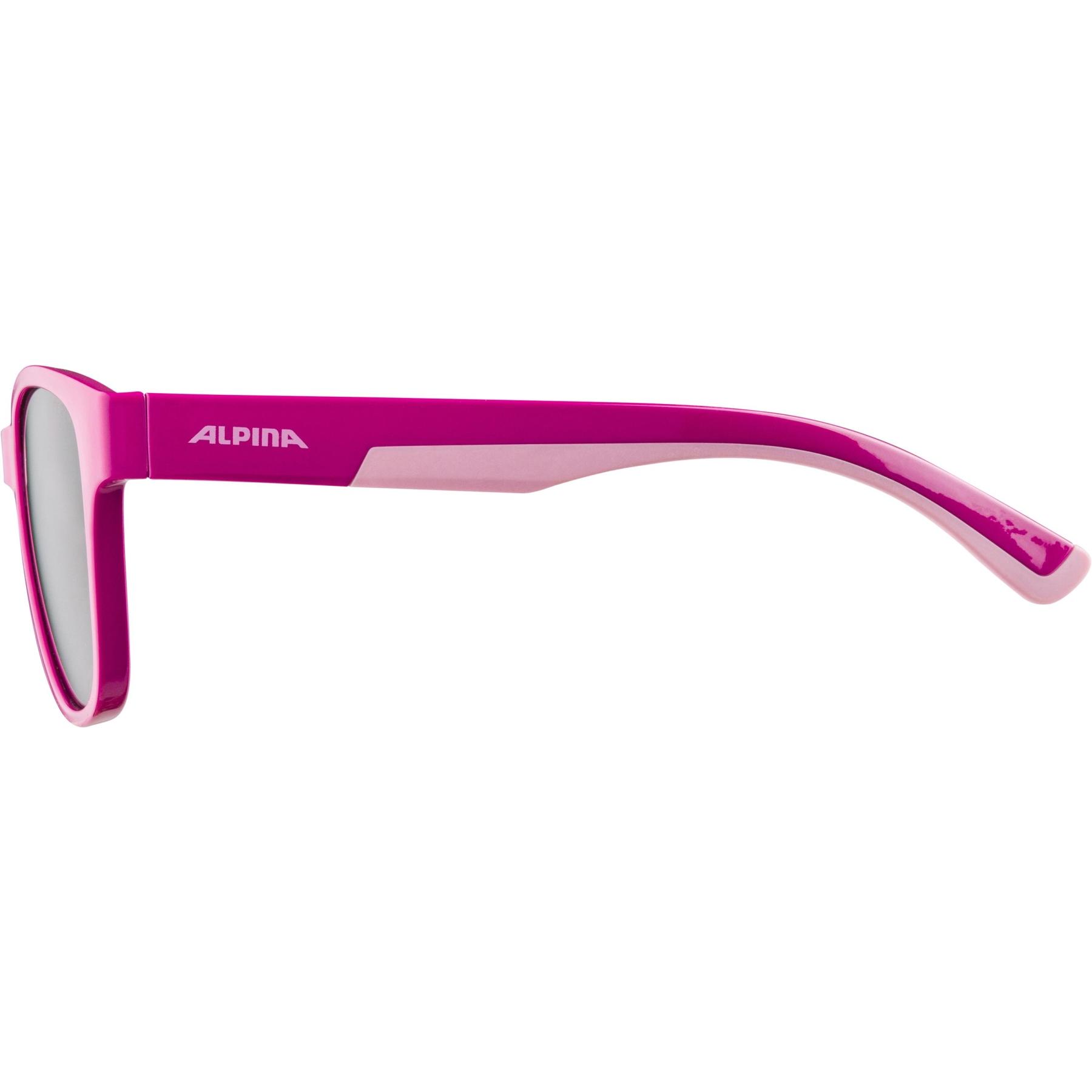 Image of Alpina Flexxy Cool Kids II Glasses - pink-rose / black