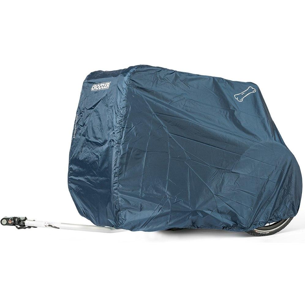 Picture of Croozer Storage Cover for Dog Jokke & Bruuno Bike Trailer - dark blue