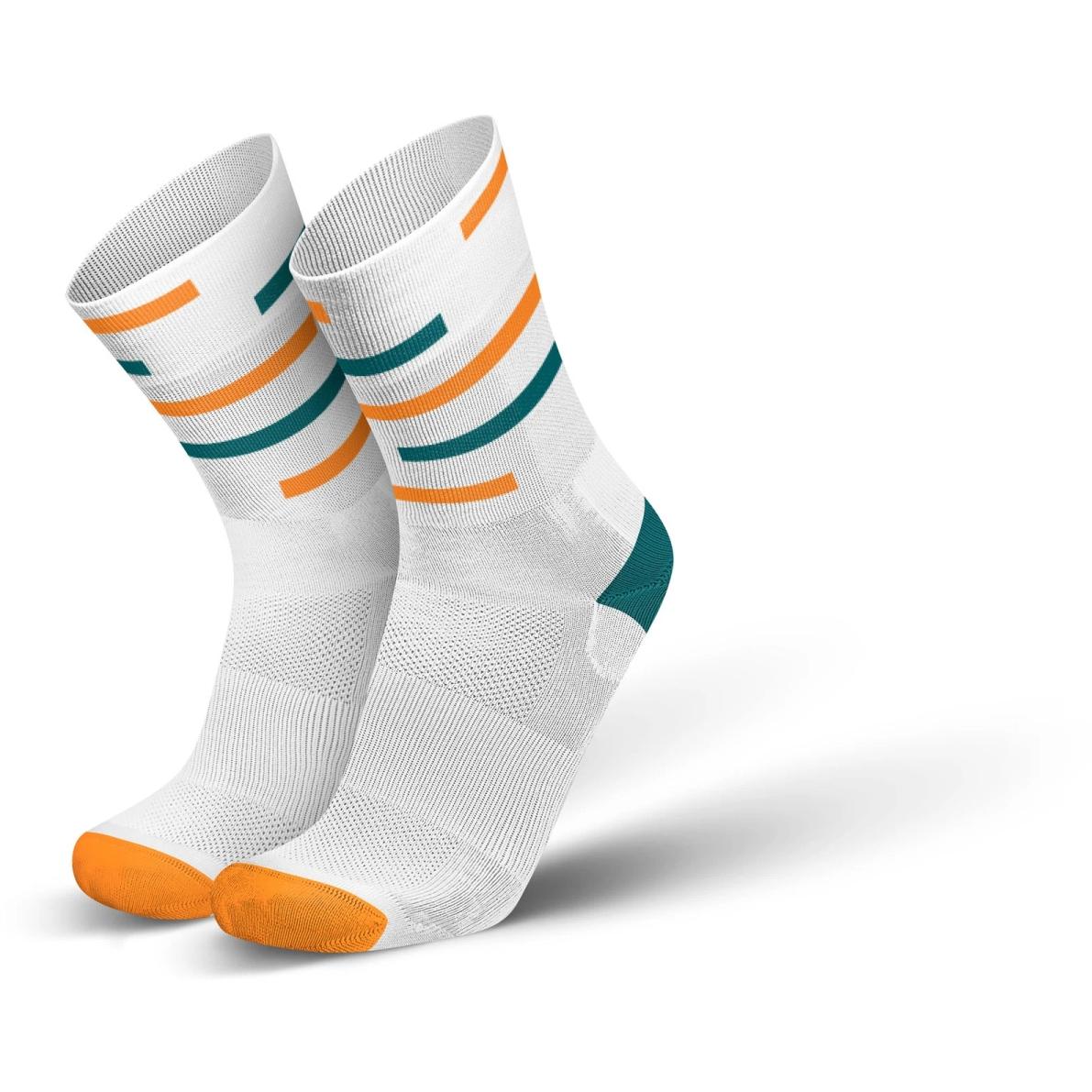 Produktbild von INCYLENCE Ultralight Motions Socken - Petrol Orange