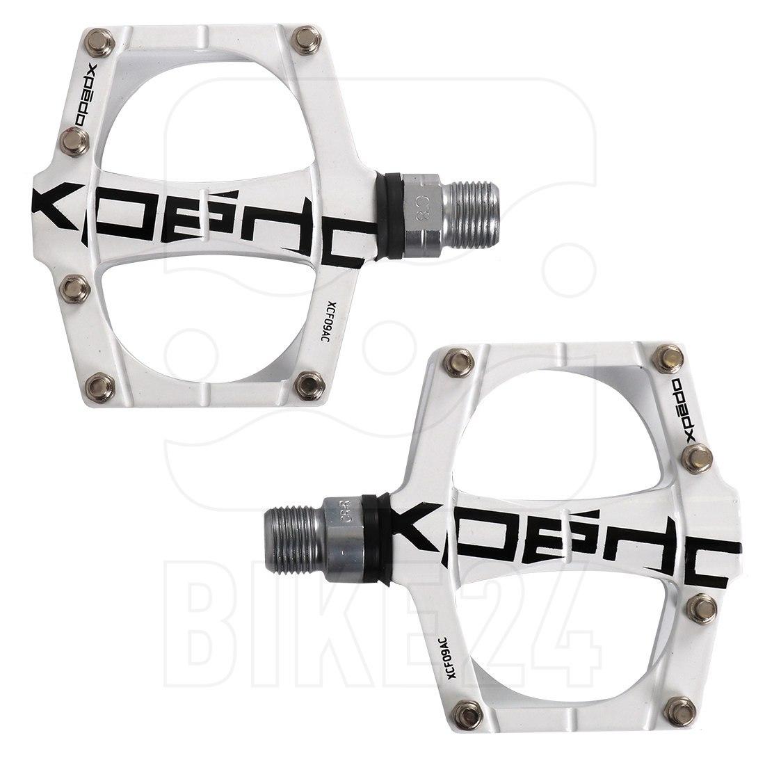 Xpedo Traverse 9 Pedal - weiß