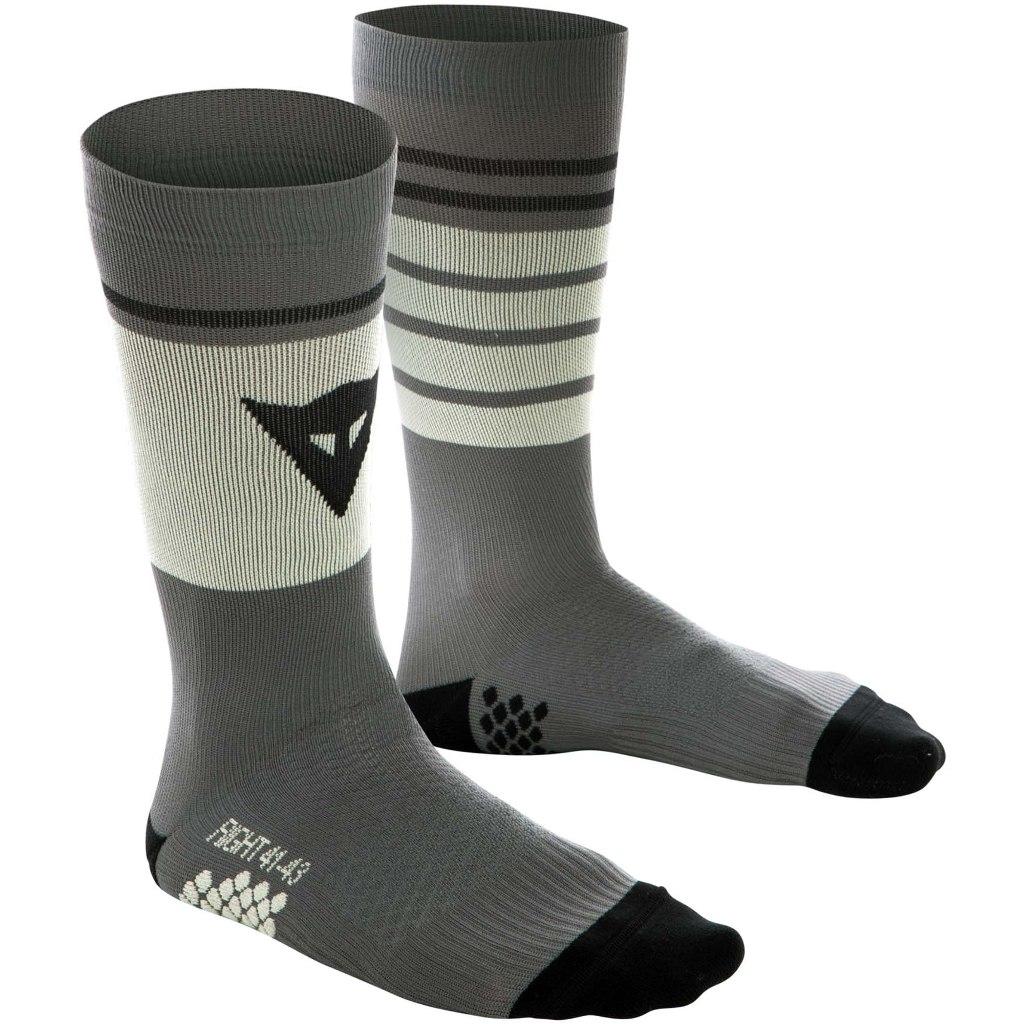 Dainese HG Socks High - gargoyle/tender yellow/black iris