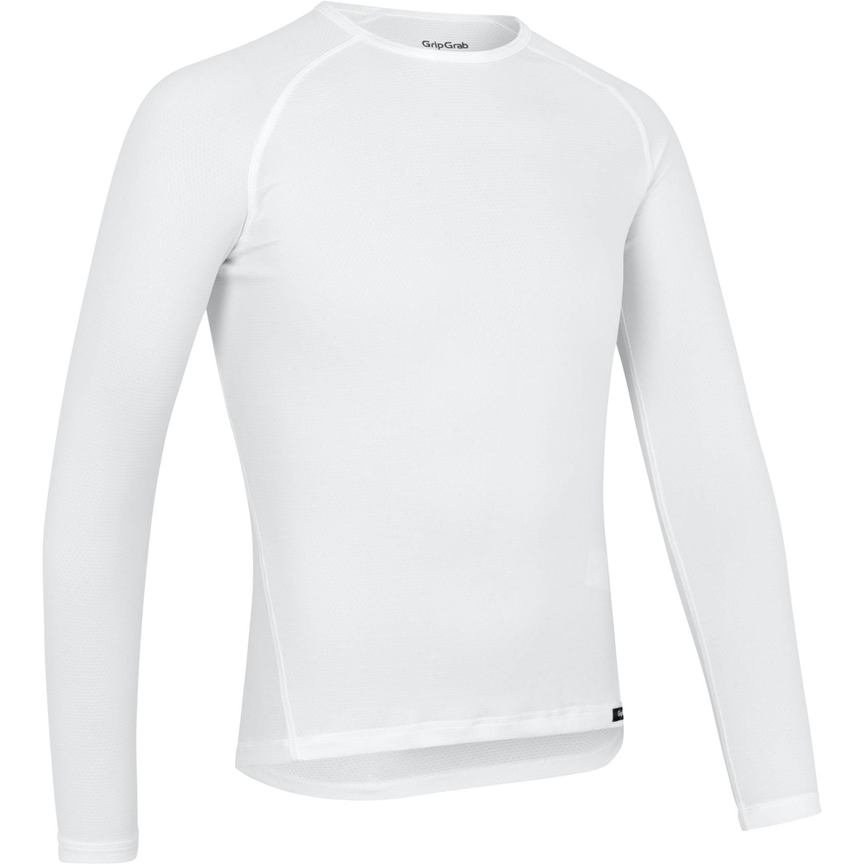 Produktbild von GripGrab Ride Thermal Langärmeliges Unterhemd - White