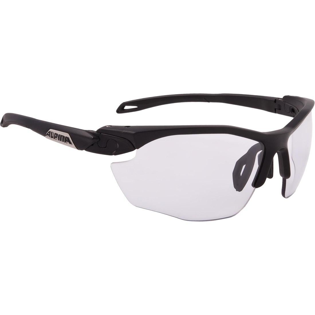 Foto de Alpina Twist Five HR VL+ black matt/Varioflex black - Glasses