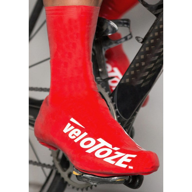Image of veloToze Tall Shoe Cover Road - white