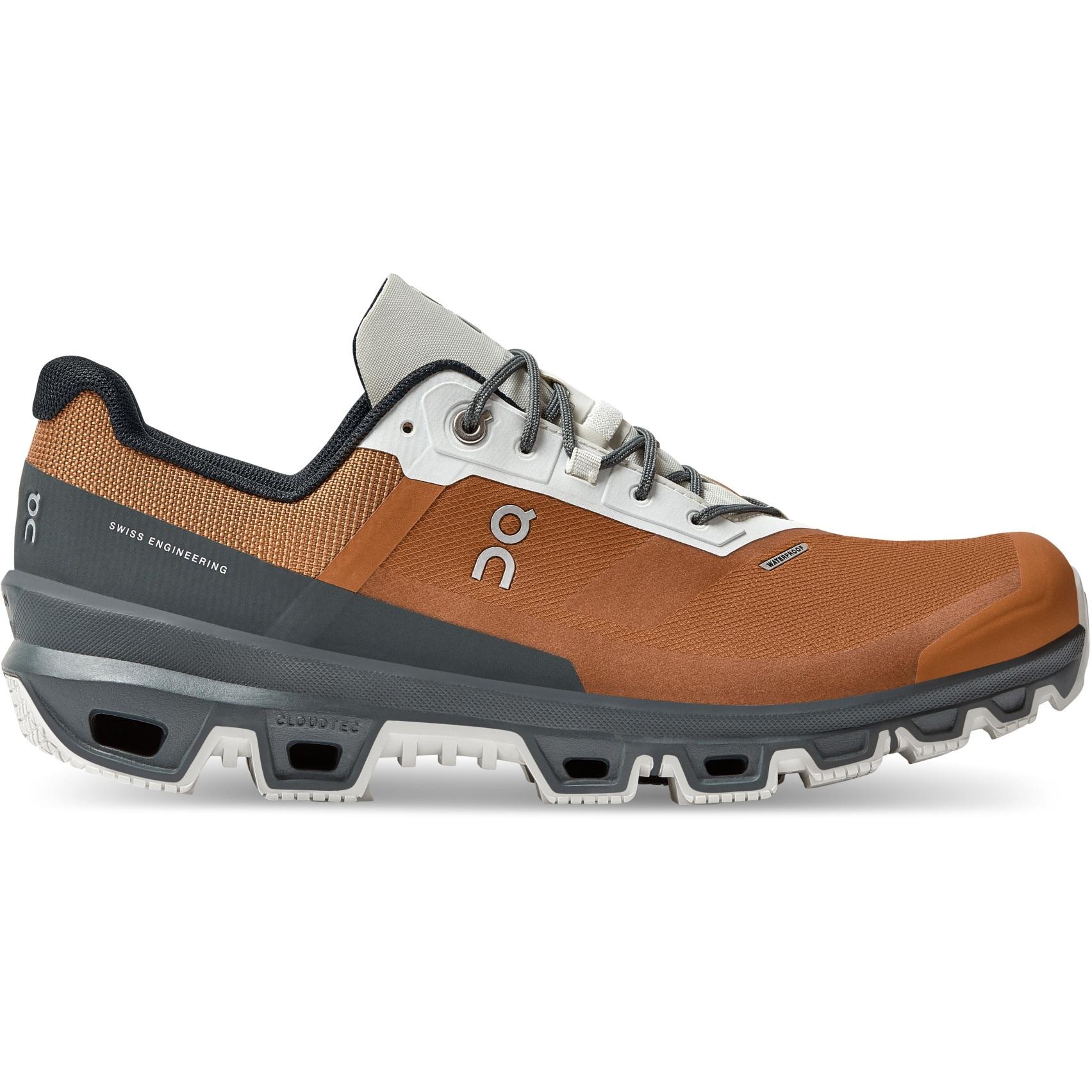 Produktbild von On Cloudventure Waterproof Trailrunning Schuh - Pecan & Lead