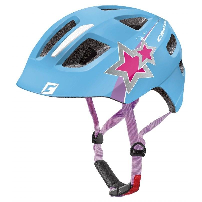 CRATONI Maxster Helmet - blue star glossy