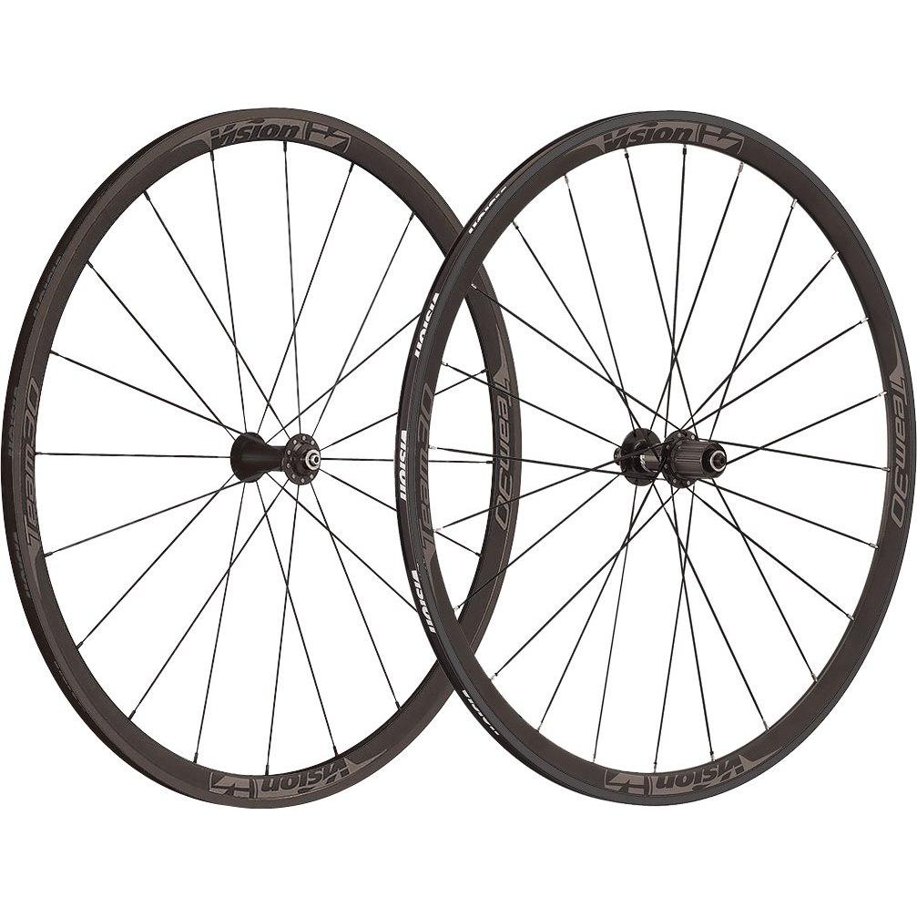 Vision Team 30 Laufradsatz Drahtreifen - schwarz