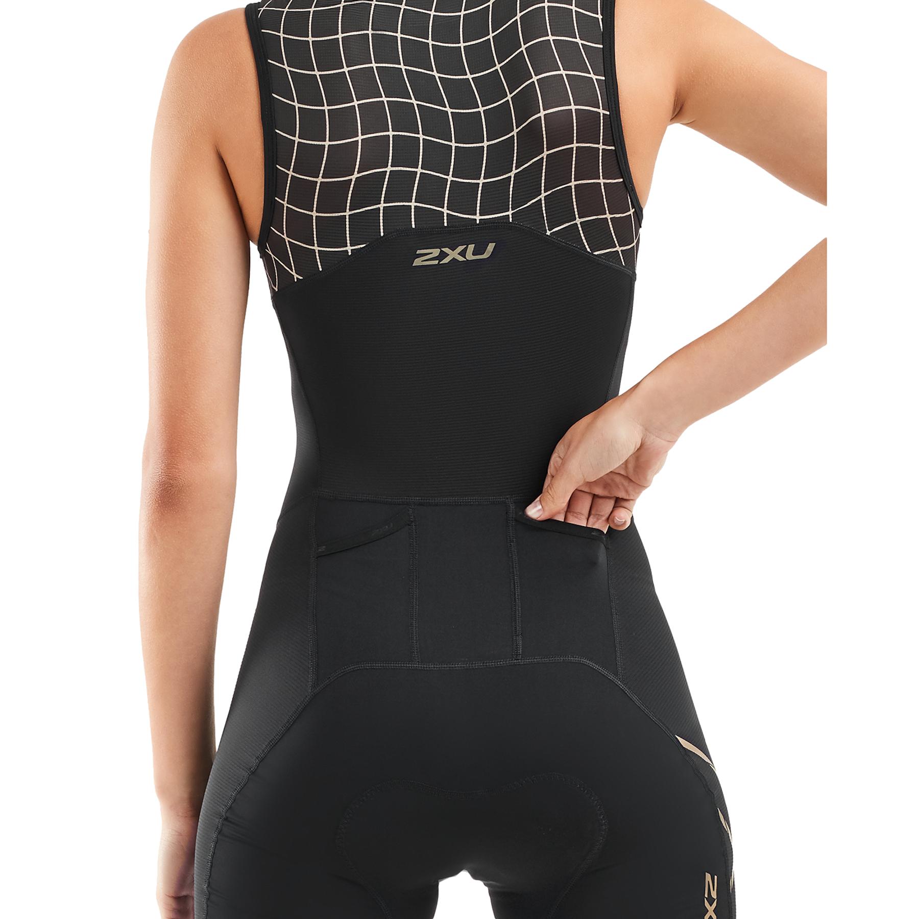 Imagen de 2XU Compression Women's Trisuit - black/gold