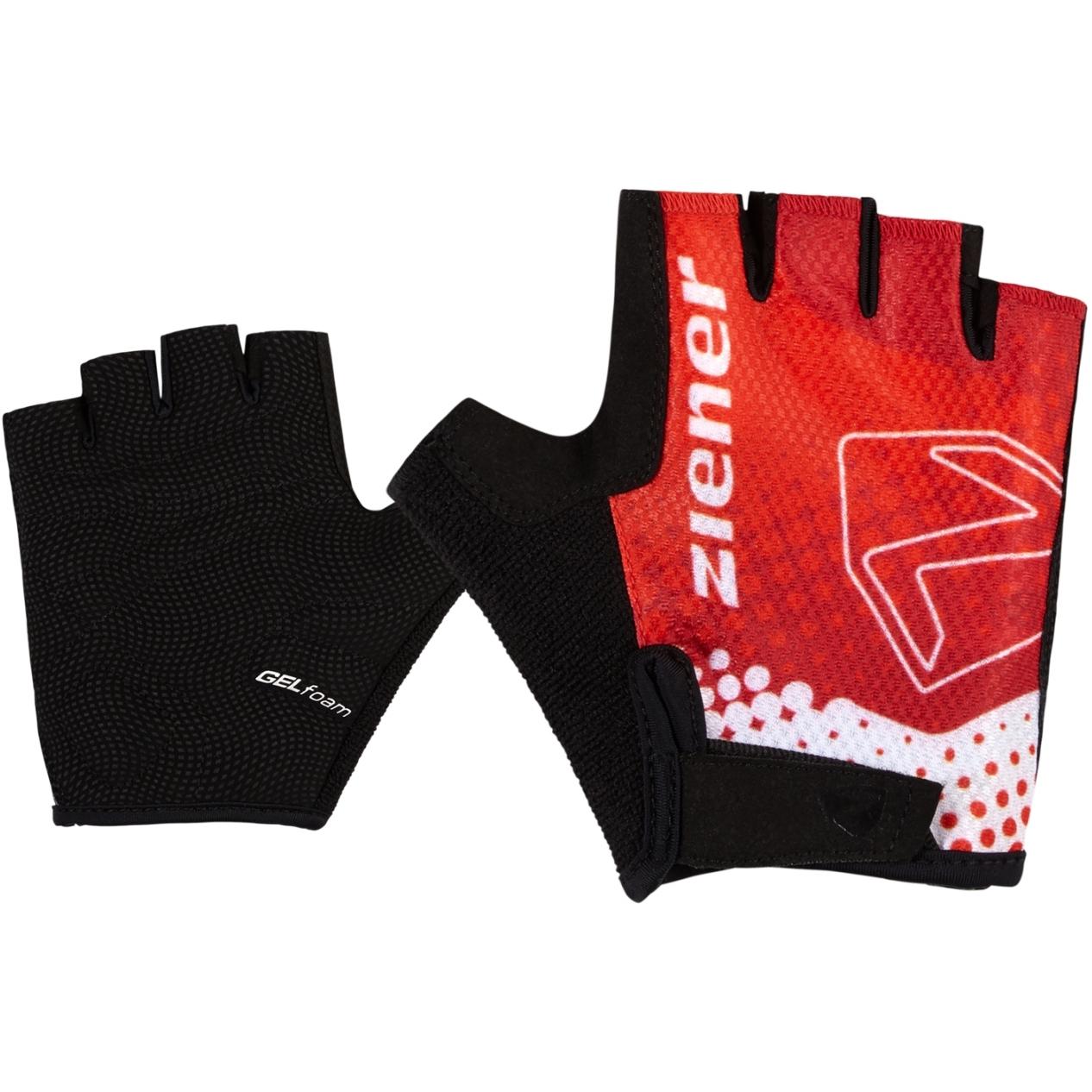 Ziener Curto Junior Fahrradhandschuhe - new red
