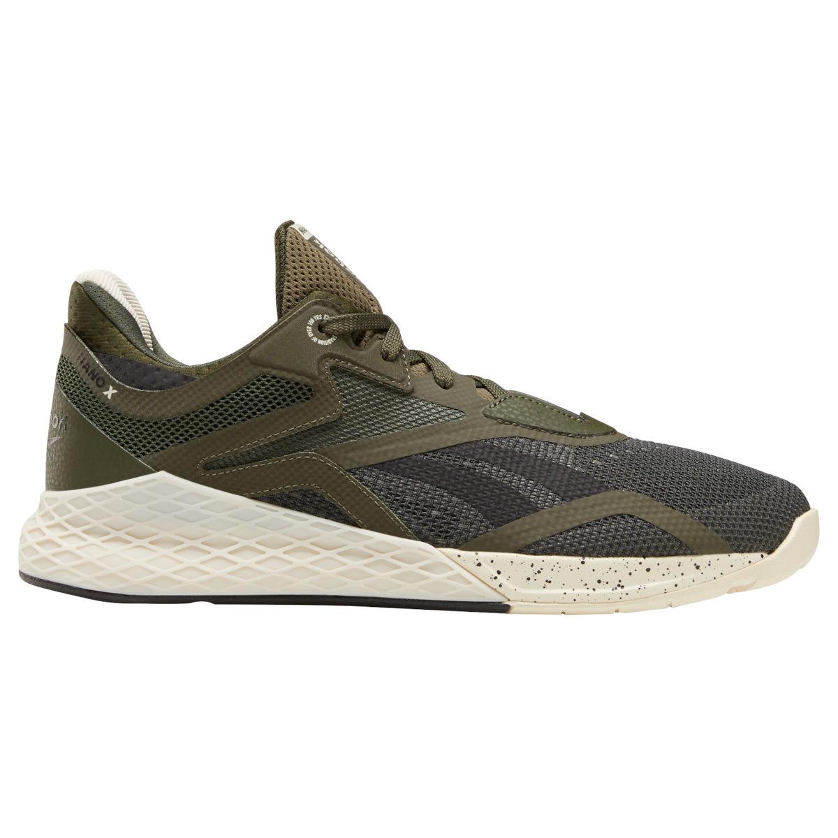 Reebok Männer Nano X Fitness-Schuh - poplar green/black/alabaster FV6670